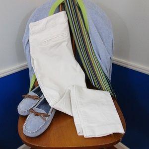 Old Navy White Pixie Pants